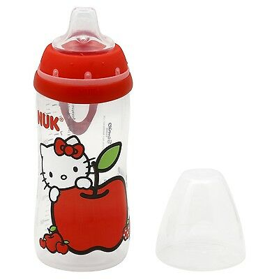 New NUK Hello Kitty Active Cup with Silicone Spout 12m+ 10 oz.