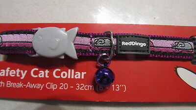 COLLIER CHAT RED DINGO mauve rose