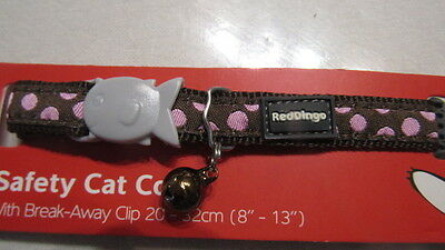 Collier Chat Red Dingo Choco Rose