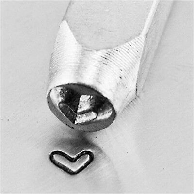 NEW Whimsy Love Heart Metal Stamp 1/8in / 3mm by Impress Art