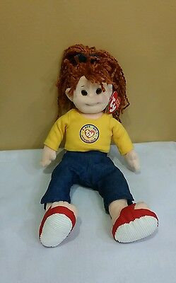 "Ty Beanie Bopper CUDDLY CRYSTAL Exclusive BBOC Kid DOB 5-29, 13"" Retired & New"