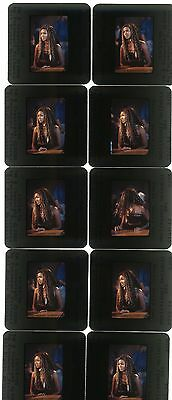 35mm photo slides Beyonce The Fighting Tempations Close Up Lot of 10 #1