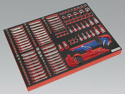 Sealey TBTP07 Tool Tray Specialised Bits & Sockets 177pc