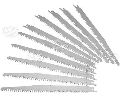 10pcs High Carbon Steel Reciprocating Saw Blades 240mm Sabre For Bosch Makita