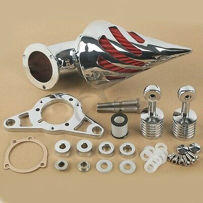 Spike Air Cleaner Kits Intake Filter for Harley Touring Softail Dyna Super Glide