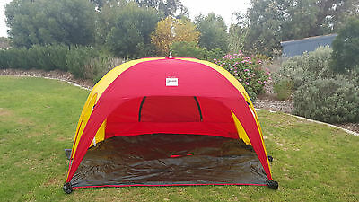 Beach Shelter Dome Tent Sun Shade Tent Pop Up Instant Shade Black Stump