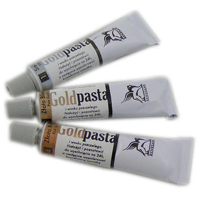 Metallic Rub-On Paste For Picture Frames and Art / Paste for gilt  Decoupage
