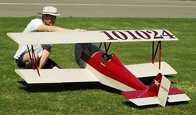 1/3 Scale Nosen Gere Sport  8 foot Giant Scale RC Model AIrplane Printed Plans