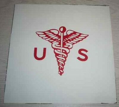 USA:Medical Corps:Alu-Platte 30 x 30 cm