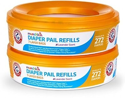 Munchkin Arm And Hammer Diaper Pail Refill Rings, 546 Count