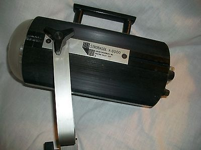 Larson Strobasol X-8000 Studio Light with Working Bulb and Power Cable