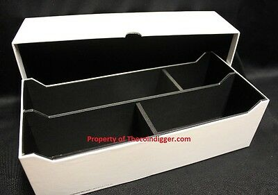 NEW Lighthouse INTERCEPT Shield IBSL50 Storage Box for 50 Certified Coin Slabs