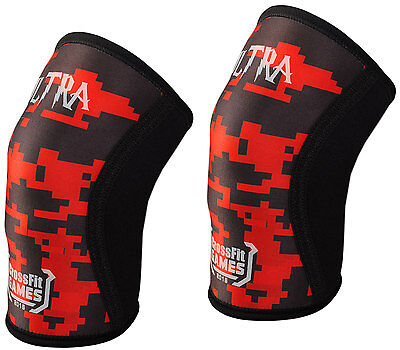 Knee sleeves Crossfit powerlifting weightlifting bandage support Squatting PAIR