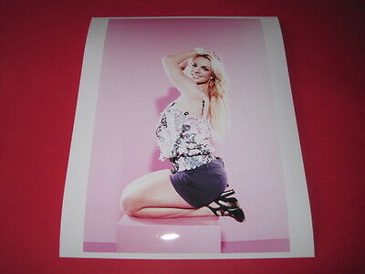 BRITNEY SPEARS  10x8 inch lab-printed glossy photo P/5044