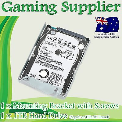 1TB PS3 Super Slim Hard Disk Drive HDD + Mounting Bracket forCECH-400x Series