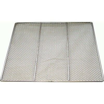 """DN-FS23  Quant. of 10 Stainless Steel Donut Frying Screens 23""""x23"""" Wire# 24 Ga"""