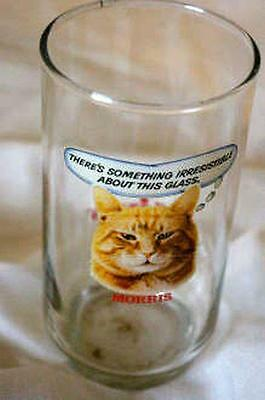 Anchor Hocking 1971 9 Lives Morris The Cat Something Irresistable Tumbler