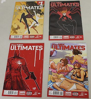 All New Ultimates #1-4 (1,2,3,4) Complete Set