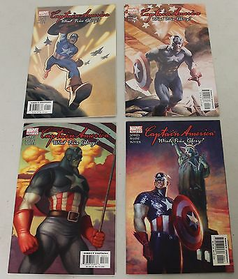 Marvel: Capatin America: What Price Glory? (2003) #1-4 COMPLETE SET