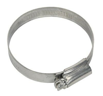 Sealey Hose Clip Stainless Steel Ø44-64mm Pack of 10 SHCSS2A