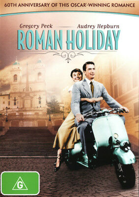 Roman Holiday (Gregory Peck, Audrey Hepburn) DVD R4 Brand New!