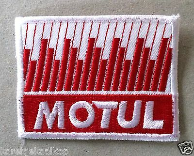 Vintage Sew-on Patch Motul Oil
