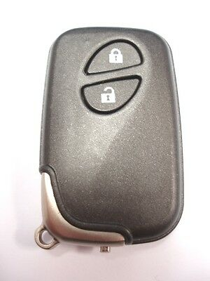 Replacement 2 button shell case for Lexus CT200H remote key fob