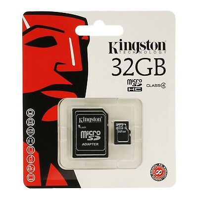 Kingston 32GB Micro SD SDHC TF Flash Memory card UHS 1 with Adapter