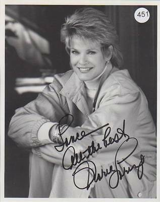 Signed GLORIA LORING Photo Days Of Our Lives Actress Singer AUTOGRAPH