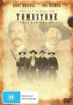 Tombstone - Kurt Russell, Val Kilmer - Western Movie DVD R4 New! *