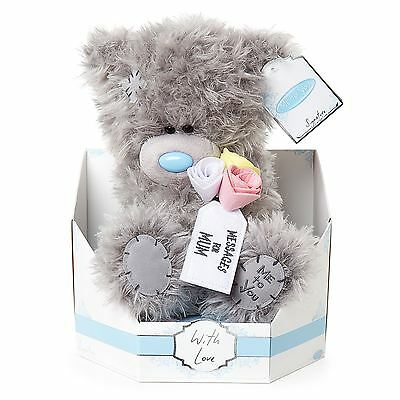 "Me to You 9"" Message For Mum Plush & Flowers Gift For Mothers - Tatty Teddy Bear"