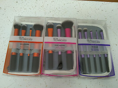 Brush Sets -> Real Techniques Core Collection Eyes Starter Kit Travel Essentials