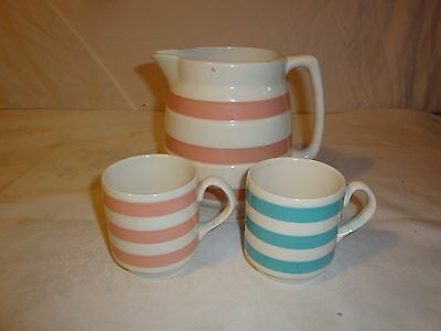 Carrigaline Pottery Made In Ireland 1.5 Pt Pitcher Pink