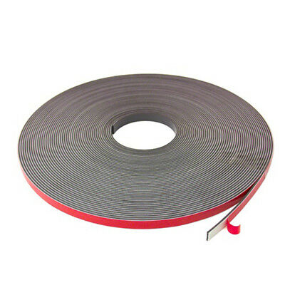 MagFlex® 12.7mm Wide Flexible Magnetic Tape - Foam Self Adhesive-Polarity A(5M)