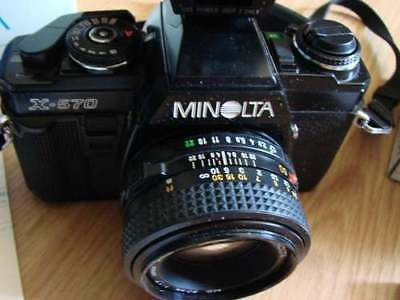 Minolta X-570 With 50mm f/1.7 Lens Very Good Conditions - Preferred by Pro