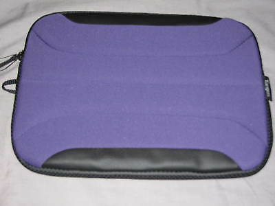 "Targus Zamba Netbook Sleeve 10.2"" Neoprene Laptop iPad Protect Case Purple NEW!"