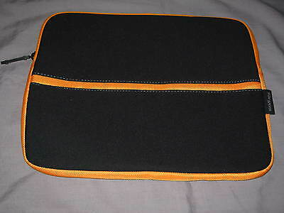 Targus Netbook Sleeve 13.5x10.5  Neoprene Laptop iPad Protect Case Black NEW!