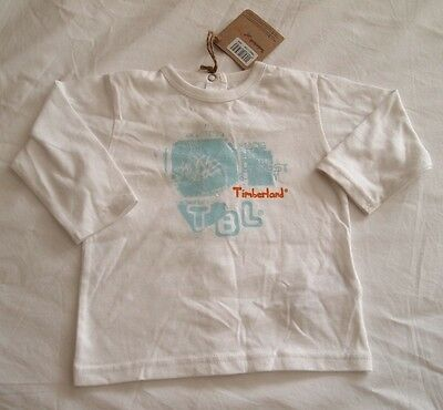TIMBERLAND CUTE BABY  BOYS 6m  L/S TEE/TOP *NWT