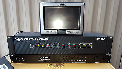 AMX NI-3100 NetLinx Intergrated controller NXD-700V IN400 AV Switching Amplifier