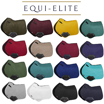 LeMieux Pro Sport Luxury Suede Close Contact Jumping Event Square Saddle Pads