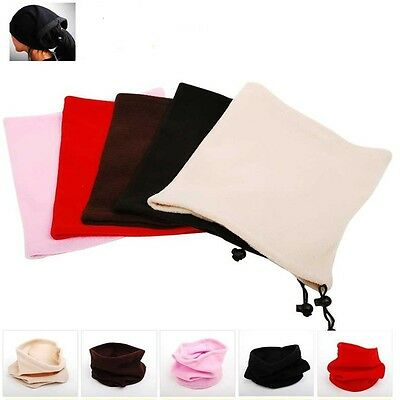New Men Women Neck Face Head Warmer Hat Tube Scarf Winter Thermal Snow Mask Veil