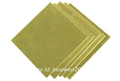 Brass Sheet Brass Strip 0.5-6mm Thick Any Size H62 Plate Riveting Cutting Tool