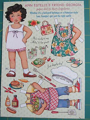 Mary Engelbreit Home Companion Paper Doll Insert: Georgia  (Excellent)