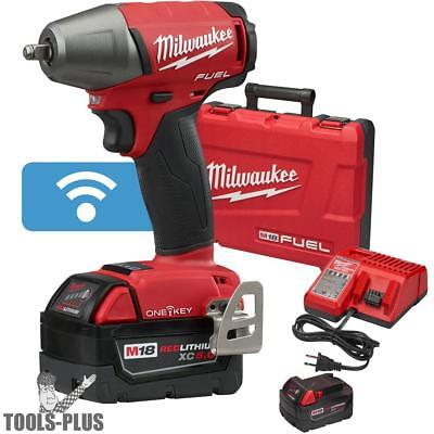 """Milwaukee 2758-22 M18 FUEL 3/8"""" Compact Impact w/ Frict Ring + ONE-KEY Kit New"""
