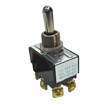 Gardner Bender Heavy Duty Toggle Switch 20a Double Pole Double Throw Off