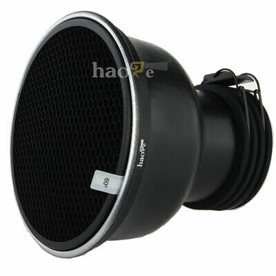 Haoge Zoom Reflector 2 + Honeycomb Grid Set for Profoto Prohead and Acute head