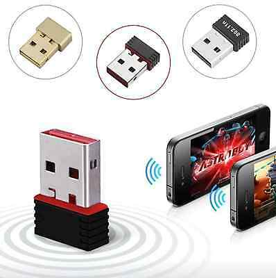 150MBPS MINI USB WIFI Wireless Adaptor 802.11 B G N LAN Network Dongle Adapter