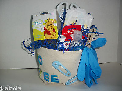 Winnie The Pooh Boy Diaper Doo-Ty Tool Belt Dad Brother Grandpa Baby Shower Gift