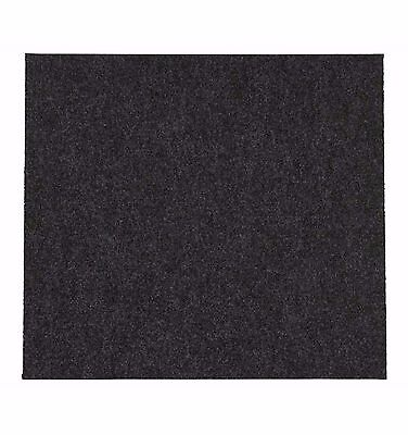 B&q Grey Carpet Tiles, Pack Of 10 - Home - Office - Bacteria Resistant - New