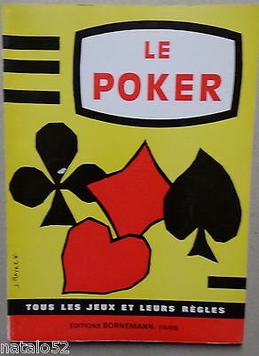 le poker - Editions Bornemann 1967